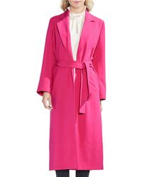 Vince Camuto - Notchcollar Trench Coat - Lyst