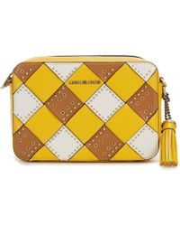 0cb592dd11 Lyst - MICHAEL Michael Kors Large Sloan Quilted Embossed Python ...