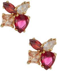 Kate Spade - Flying Colors Cluster Stud Earrings - Lyst