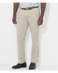 Polo Ralph Lauren - Big & Tall Classic-fit Flat-front Chino Pants - Lyst