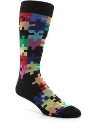 K. Bell - Jigsaw Puzzle Crew Socks - Lyst
