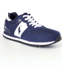Polo Ralph Lauren | Slaton Pony Casual Sneakers | Lyst