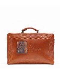 Patricia Nash - Bohemian Tooled Rifredi Luggage Case - Lyst