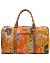 Patricia Nash - Exotic Island Collection Milano Studded Floral Weekender - Lyst