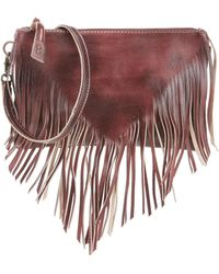 Bed Stu - Silverrock Frayed Fringe Cross-body Bag - Lyst