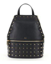 Lauren by Ralph Lauren - Arley Collection Blaine Studded Backpack - Lyst