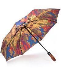 Patricia Nash Parisian Camo Collection Magliano Umbrella - Multicolour