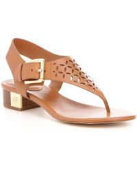 MICHAEL Michael Kors - London Thong Sandals - Lyst