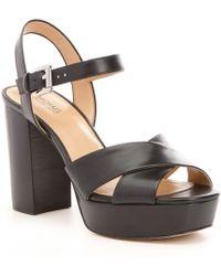 MICHAEL Michael Kors - Divia Platform Sandals - Lyst