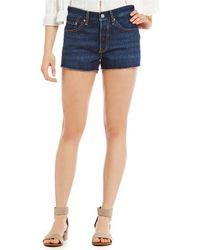 Levi's - 501 Denim Shorts - Lyst