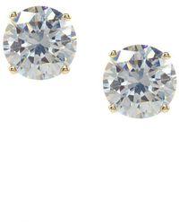 Jessica Simpson   Crystal Stud Earrings   Lyst