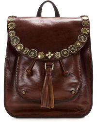Patricia Nash - Vintage Studded Hardware Collection Jovanna Tasseled Backpack - Lyst
