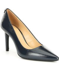 02c57ee9903 MICHAEL Michael Kors - Dorothy Embossed Patent Leather Flex Pumps - Lyst
