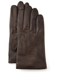 Fownes - Cashmere-lined Leather Gloves - Lyst