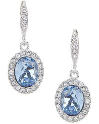 Givenchy - Sapphire Drop Earrings - Lyst