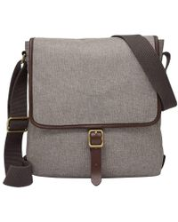 Fossil - Buckner Fabric Tablet City Bag - Lyst