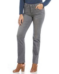 Jones New York - Lexington Straight Leg Jeans - Lyst