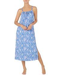 Lauren by Ralph Lauren - Paisley-print Ballet Knit Nightgown - Lyst