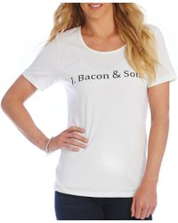 "Heritage - ""j. Bacon & Sons"" Logo Tee - Lyst"
