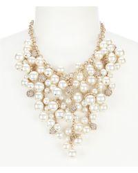Belle By Badgley Mischka - Shaky Drop Statement Necklace - Lyst