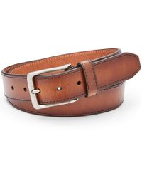 Fossil - Griffin Leather Belt - Lyst