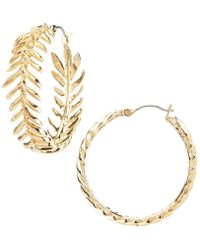 Vince Camuto - Hoop Earrings - Lyst