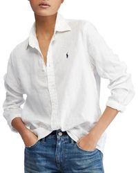 Polo Ralph Lauren - Relaxed Fit Linen Shirt - Lyst