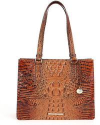 Brahmin | Toasted Almond Collection Medium Camille Tote | Lyst