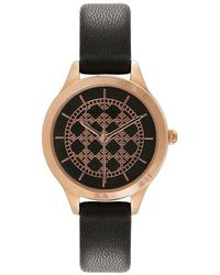 Nicole Miller - New York Logo-dial Analog Watch - Lyst