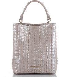 Brahmin - La Scala Collection Amelia Bucket Bag - Lyst