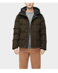 UGG - Cadin Hip-length Water-resistant Wool Blend Parka - Lyst