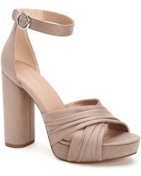 BCBGeneration - Flora Microsuede Sandals - Lyst