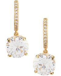 Kate Spade - Bright Ideas Cubic Zirconia Drop Earrings - Lyst