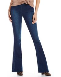 Free People - We The Free Gummy Flared Pull-on Jeans - Lyst