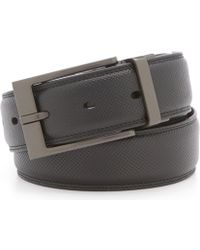 Murano - Textured Times Leather Reversible Belt - Lyst