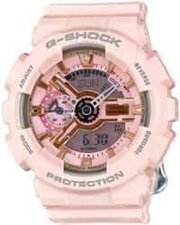 G-Shock - S-series Pink Series Watch - Lyst