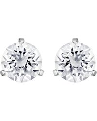 Swarovski - Crystal Solitaire Earrings - Lyst