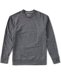 Cremieux - Solid Performance Crew Long-sleeve Tee - Lyst