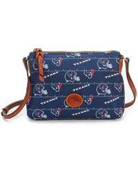 Dooney & Bourke - Nfl Houston Texans Cross-body Bag - Lyst