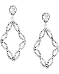 Anne Klein - Chandelier Earrings - Lyst