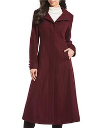 Gallery - Fit And Flare Full Length Coat - Lyst