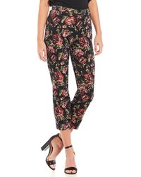 Sugarlips - Floral Print Cropped Jaquard Coordinating Pant - Lyst