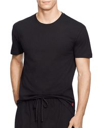 5d13081e35e3 Lyst - Polo Ralph Lauren Slim Fit Cotton V-neck 3-pack in Black for Men