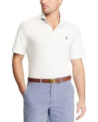 Polo Ralph Lauren - Polo Golf Active-fit Solid Lisle Short-sleeve Polo Shirt - Lyst