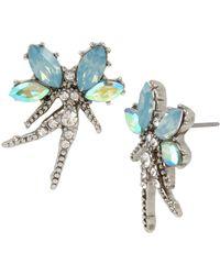 Betsey Johnson - Stone Fairy Stud Earrings - Lyst