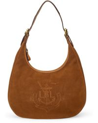 Lauren by Ralph Lauren - Huntley Hobo Bag - Lyst
