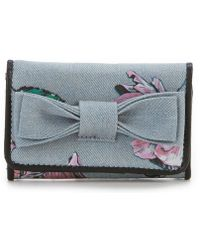 Betsey Johnson - Floral Bow Wallet - Lyst