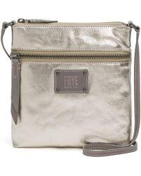 Frye - Ivy Metallic Cross-body Bag - Lyst