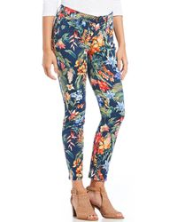 Tommy Bahama - Bonita Botanical Tropical Floral Print Ankle Pants - Lyst
