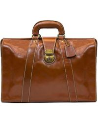 Patricia Nash Nash For Men Heritage Leather Lawyers Briefcase